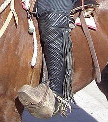 gaiters de rodeo